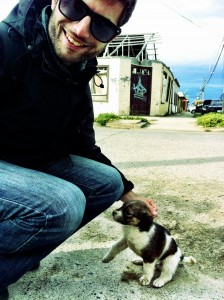 Puppies are cute in any country.