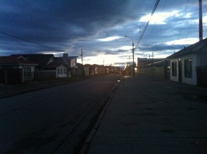 One of our only photos from Punta Arenas.
