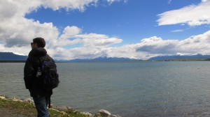 On the shores of the infinitely nicer city of Puerto Natales.