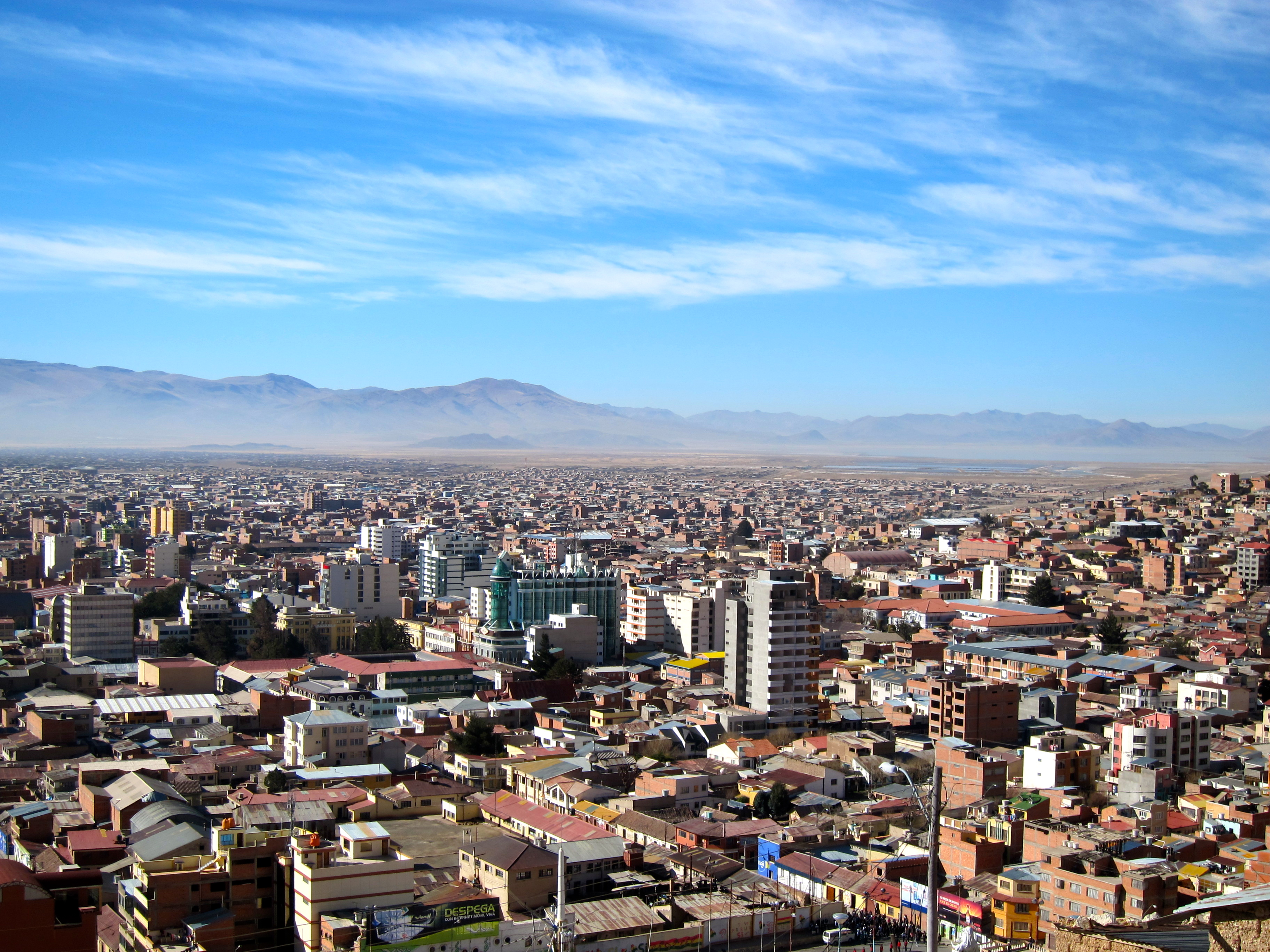 Lessons from Nowhere: Oruro, Bolivia
