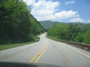 A straight road, by East Tennessee standards.