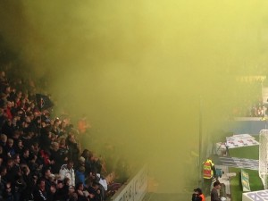 Brøndby supporters are in there somewhere, promise.