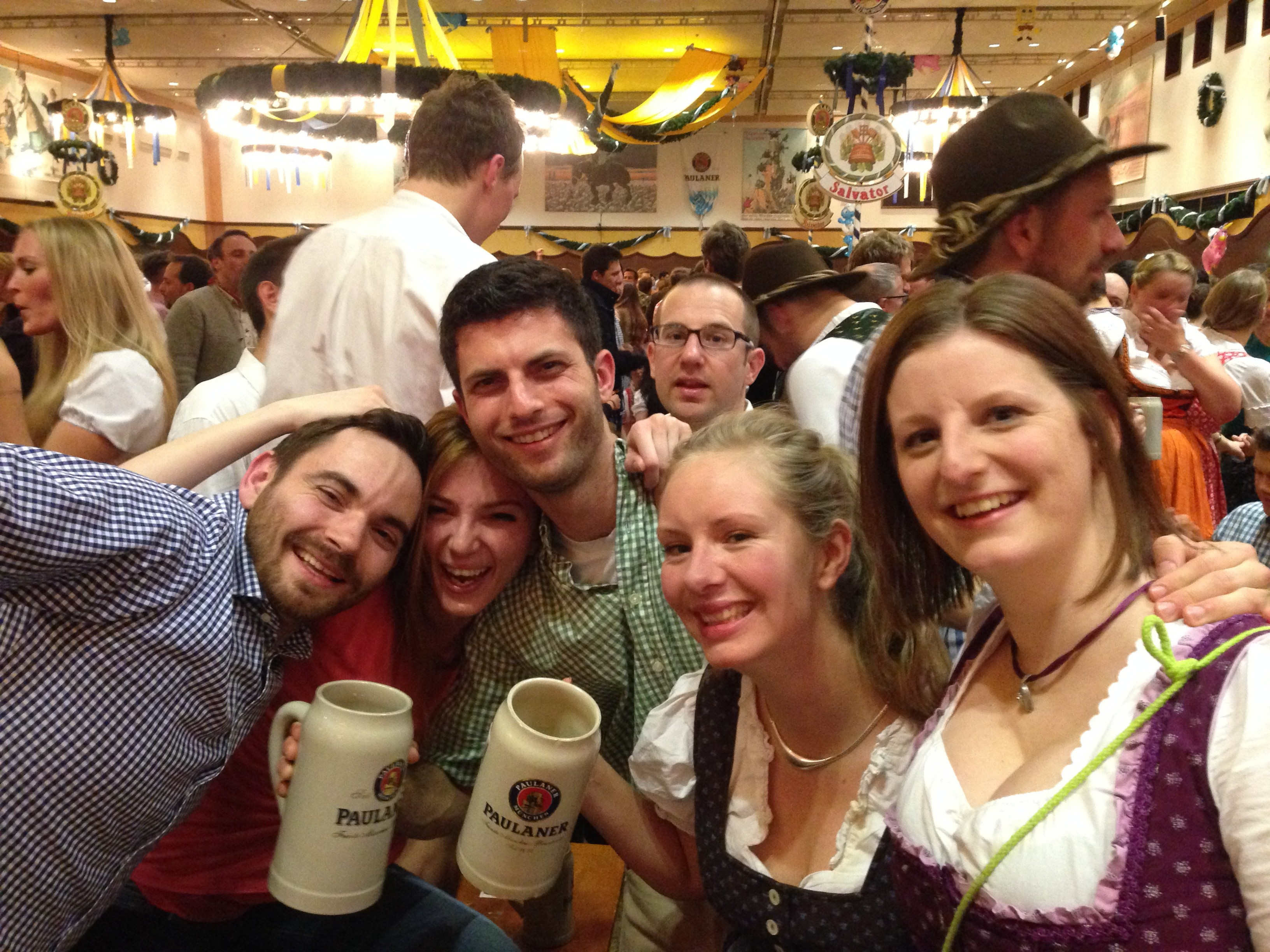 Starkbierfest. Bavarians can throw a hell of a party (with great beer, no less)!