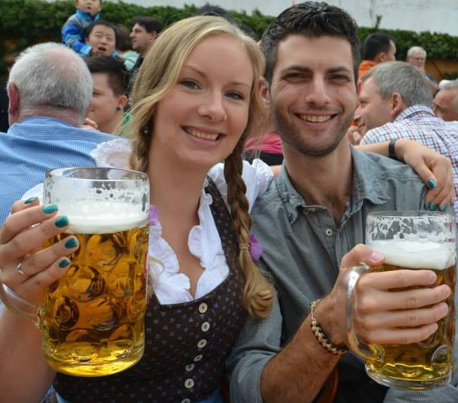 Oktoberfest, Munich, 2013. Europe has been our home for over five years now.